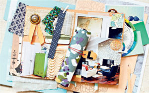 Interiors: use a mood board to pin down the right look