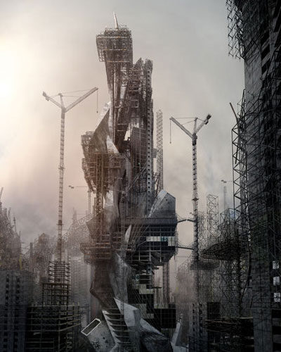 Jonathan Gales, 3D, Architecture