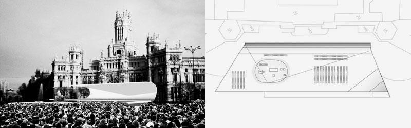 Los escenarios de la JMJ 2011 Madrid, en detalle