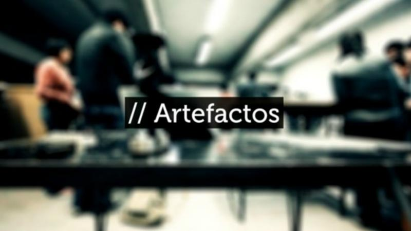 """ARTEFACTOS is a book/shortfilm that presents the work of 16 contemporary mexican artists. All of their projects cover generative graphics (with Processing) controlled by external artifacts (built with Arduino) and sometimes real.time sound synthesis (SuperCollider). All projects are built in the """"Generative Art"""" workshop, under coordination of Juan Manuel de J. Escalante (Realität) and Cecilia Sánchez Nava at the UNAM, National Autonomous University of Mexico, with the support of the FONCA, National Culture and Arts Fund"""
