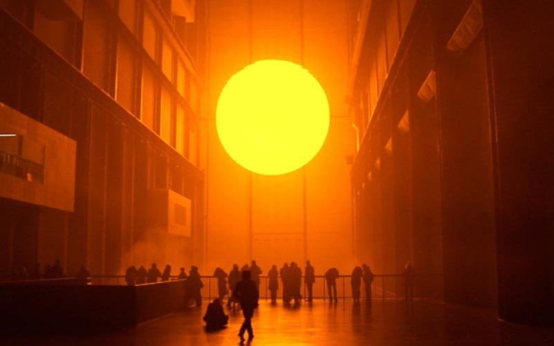 Olafur Eliasson: Playing with space and light