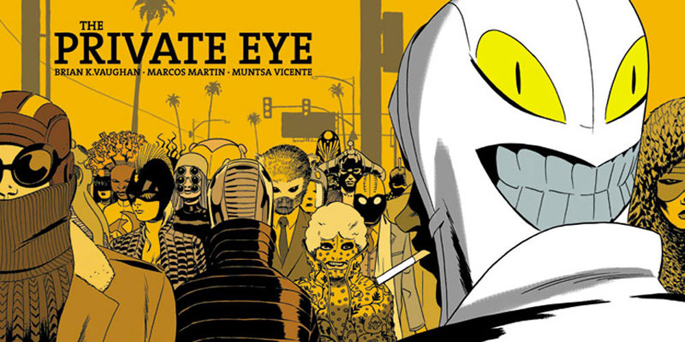 The Private Eye, un comic a partir de 0$
