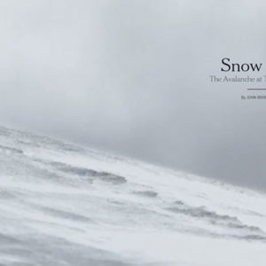 Snow Fall, el New York Times y el periodismo multimedia